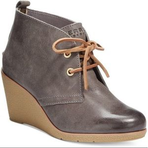 Sperry Top-Sider Harlow Leather Booties